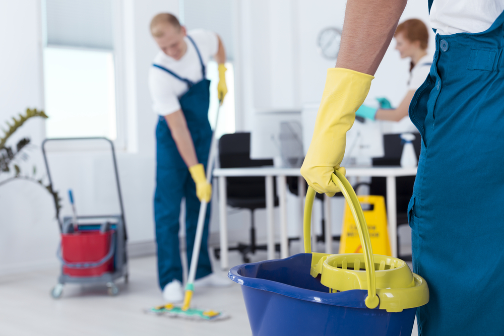 What questions should I ask a commercial cleaning service