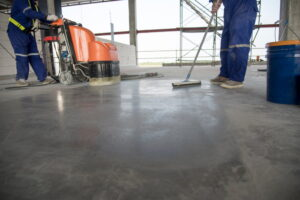 What is the difference between industrial and commercial cleaning